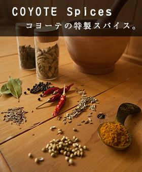 COYOTE Spices コヨーテ特製スパイス
